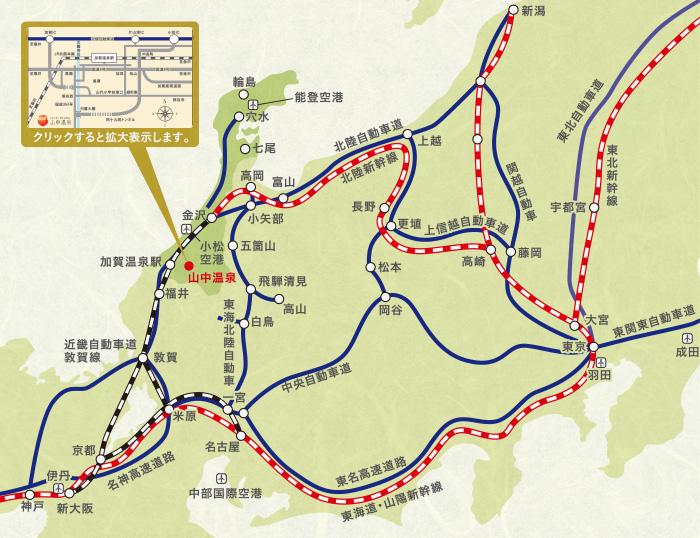 加賀温泉駅(石川県加賀市) 駅・路線図から地図 …